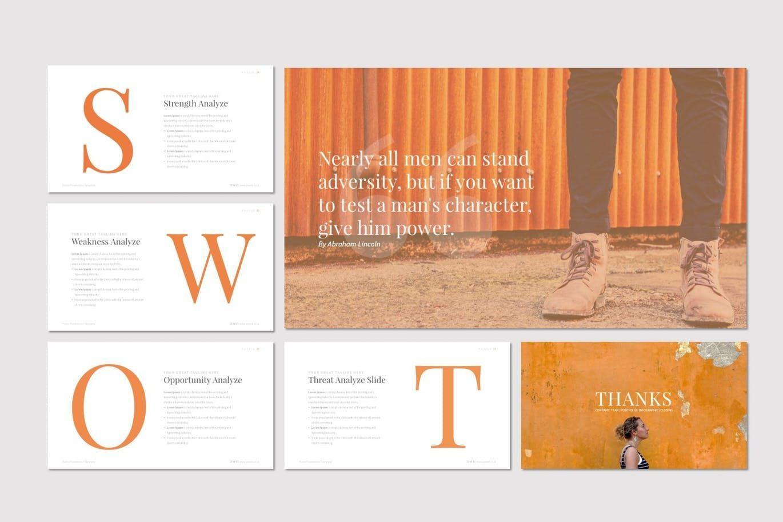 Puzzla - PowerPoint Template, Slide 5, 07223, Presentation Templates — PoweredTemplate.com