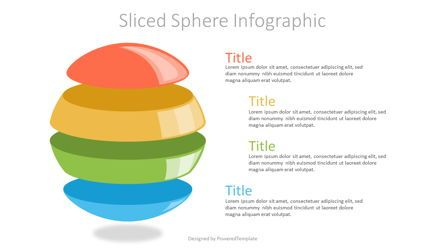 Infographics: Sliced Sphere Infographic #07226