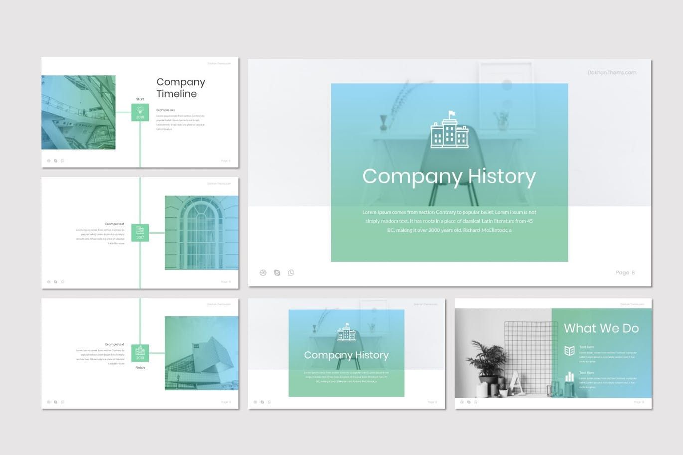 Dakhon - PowerPoint Template, Slide 3, 07227, Presentation Templates — PoweredTemplate.com