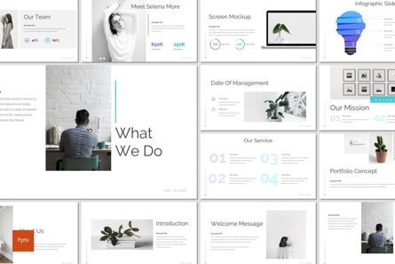 Presentation Templates: Cure - PowerPoint Template #07231