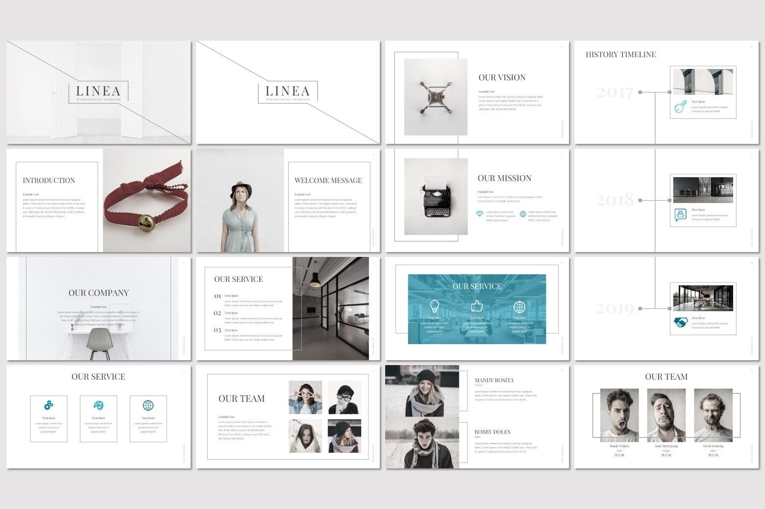 Linea - Keynote Template, Slide 2, 07234, Presentation Templates — PoweredTemplate.com
