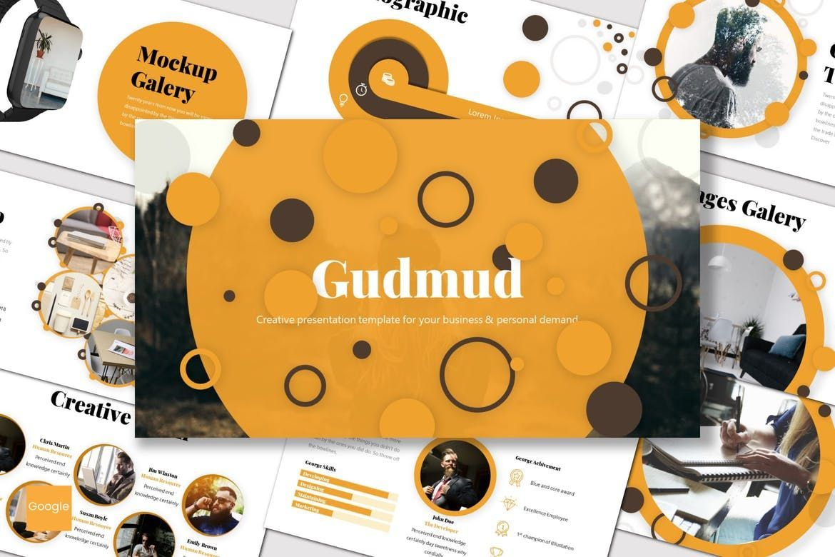 Gudmud - Google Slides Template, 07235, Presentation Templates — PoweredTemplate.com
