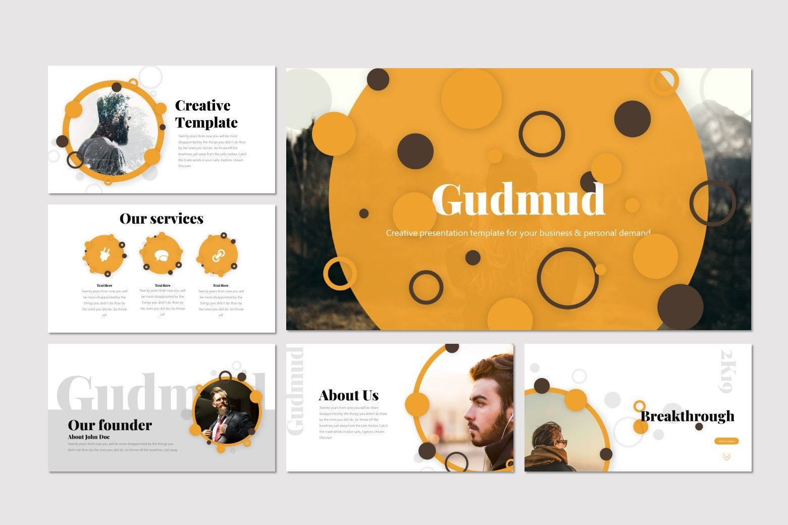 Gudmud - Google Slides Template, Slide 2, 07235, Presentation Templates — PoweredTemplate.com