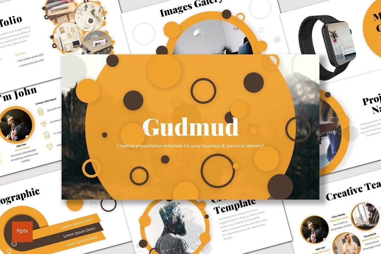 Gudmud - PowerPoint Template, 07238, Presentation Templates — PoweredTemplate.com