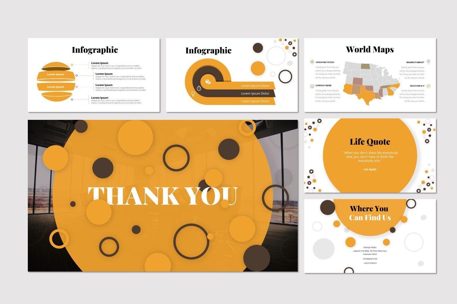 Gudmud - PowerPoint Template, Slide 5, 07238, Presentation Templates — PoweredTemplate.com