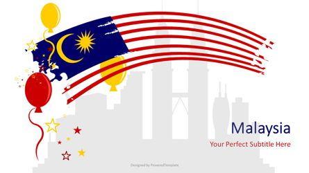 Presentation Templates: Festive Malaysia Cover Slide #07239