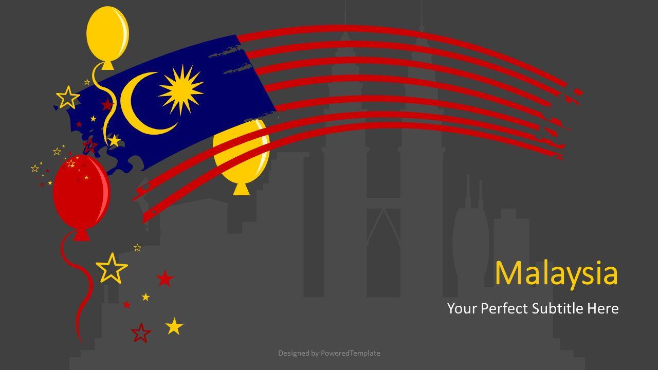 Festive Malaysia Cover Slide, Slide 2, 07239, Presentation Templates — PoweredTemplate.com