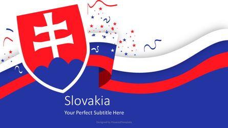 Presentation Templates: Festive Slovakia Cover Slide #07241