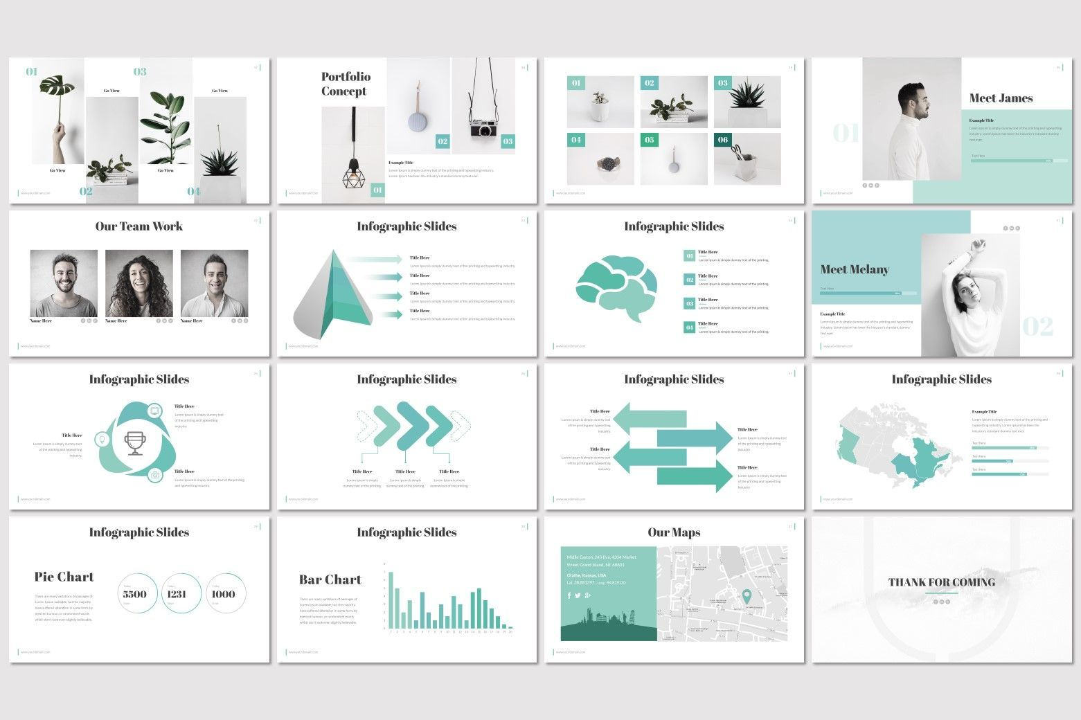 Lounge - PowerPoint Template, Slide 3, 07244, Presentation Templates — PoweredTemplate.com