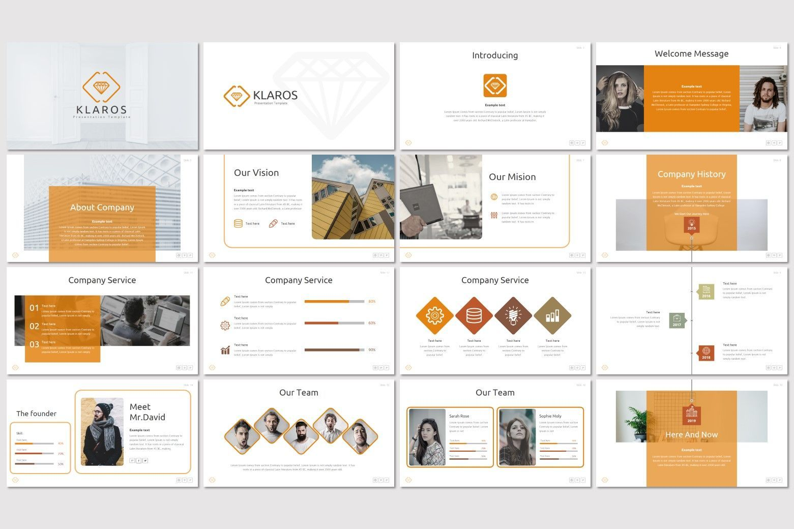 Klaros - Google Slides Template, Slide 2, 07248, Presentation Templates — PoweredTemplate.com