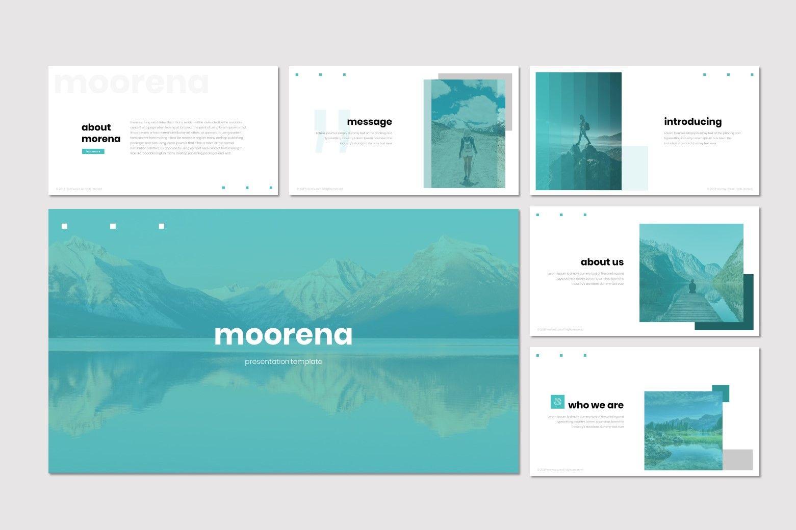 Moorena - PowerPoint Template, Slide 2, 07261, Presentation Templates — PoweredTemplate.com