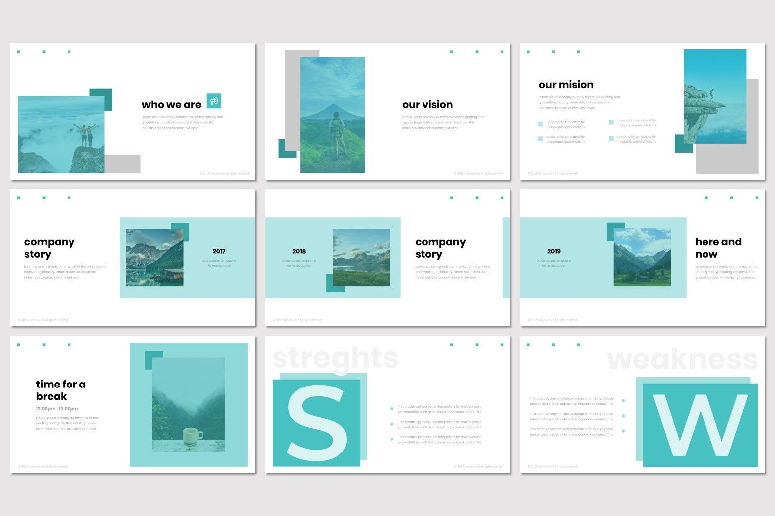 Moorena - PowerPoint Template, Slide 3, 07261, Presentation Templates — PoweredTemplate.com