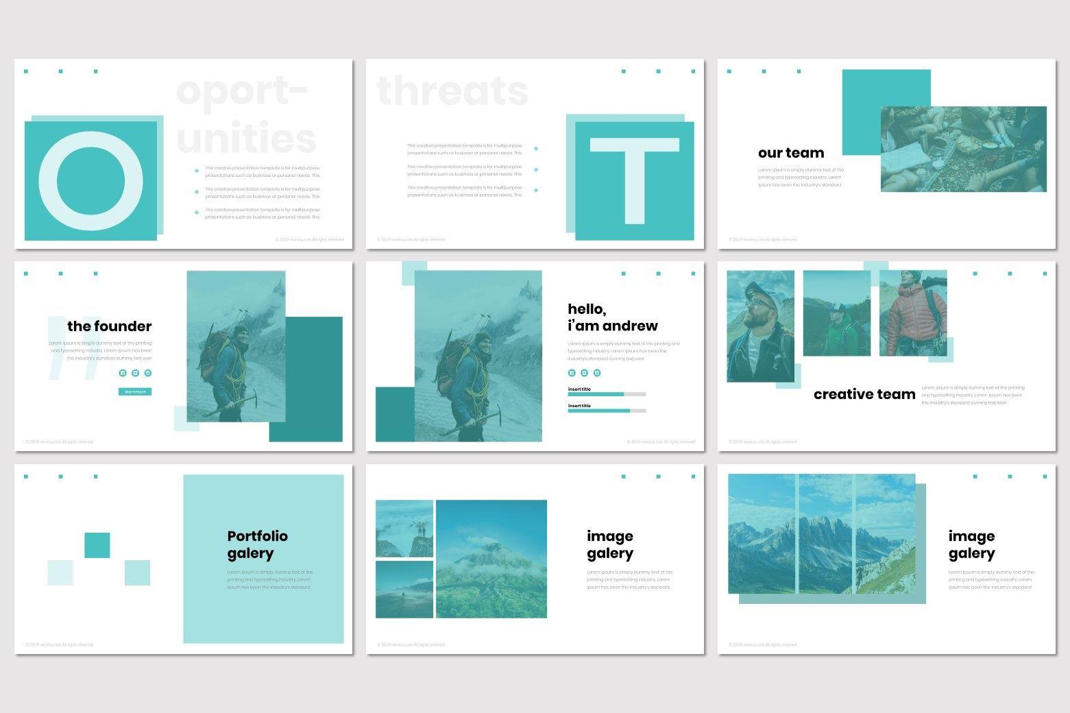 Moorena - PowerPoint Template, Slide 4, 07261, Presentation Templates — PoweredTemplate.com