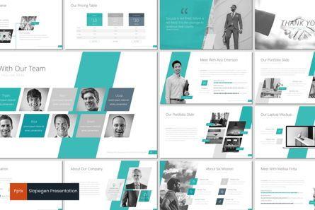 Presentation Templates: Slopegen - PowerPoint Template #07269