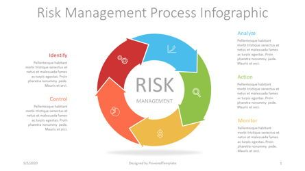 Business Models: Risk Management Process Diagram #07270