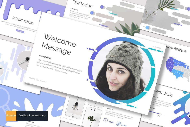 Deslizar - Google Slides Template, 07272, Presentation Templates — PoweredTemplate.com