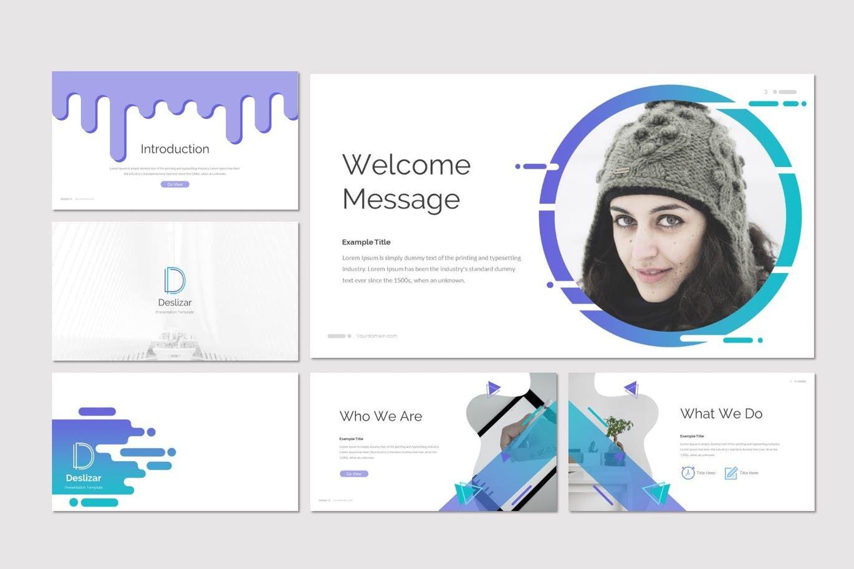Deslizar - Google Slides Template, Slide 2, 07272, Presentation Templates — PoweredTemplate.com