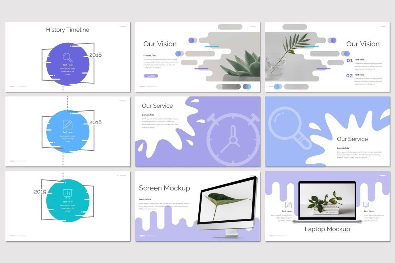 Deslizar - Google Slides Template, Slide 3, 07272, Presentation Templates — PoweredTemplate.com
