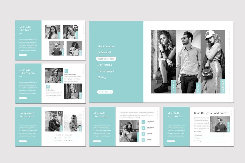 Weblook - PowerPoint Template, Slide 3, 07276, Presentation Templates — PoweredTemplate.com