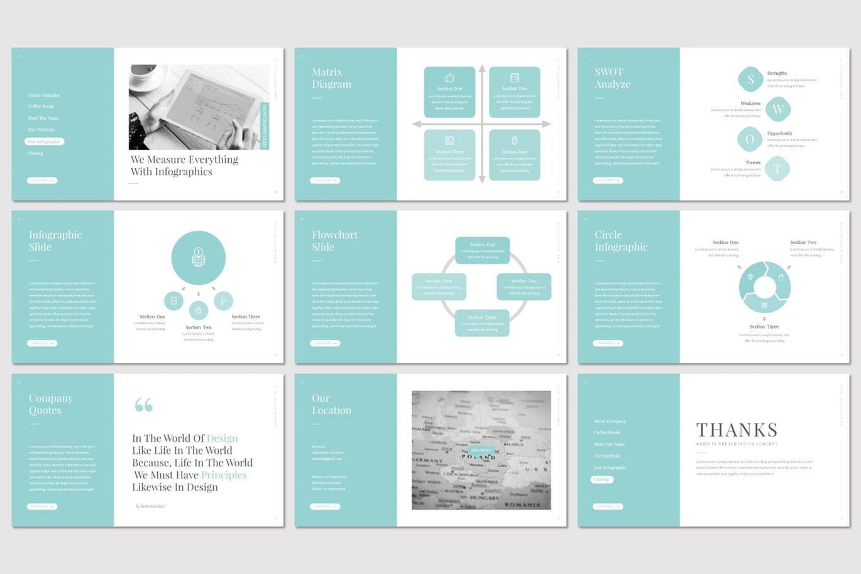 Weblook - PowerPoint Template, Slide 5, 07276, Presentation Templates — PoweredTemplate.com