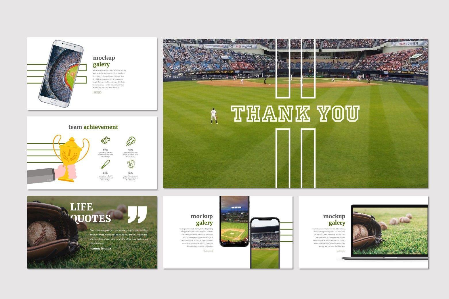 Homerun - Google Slides Template, Slide 5, 07278, Presentation Templates — PoweredTemplate.com