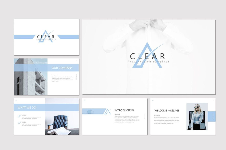 Clear - Keynote Template, Slide 2, 07283, Presentation Templates — PoweredTemplate.com