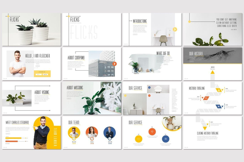 Flicks - PowerPoint Template, Slide 2, 07285, Presentation Templates — PoweredTemplate.com