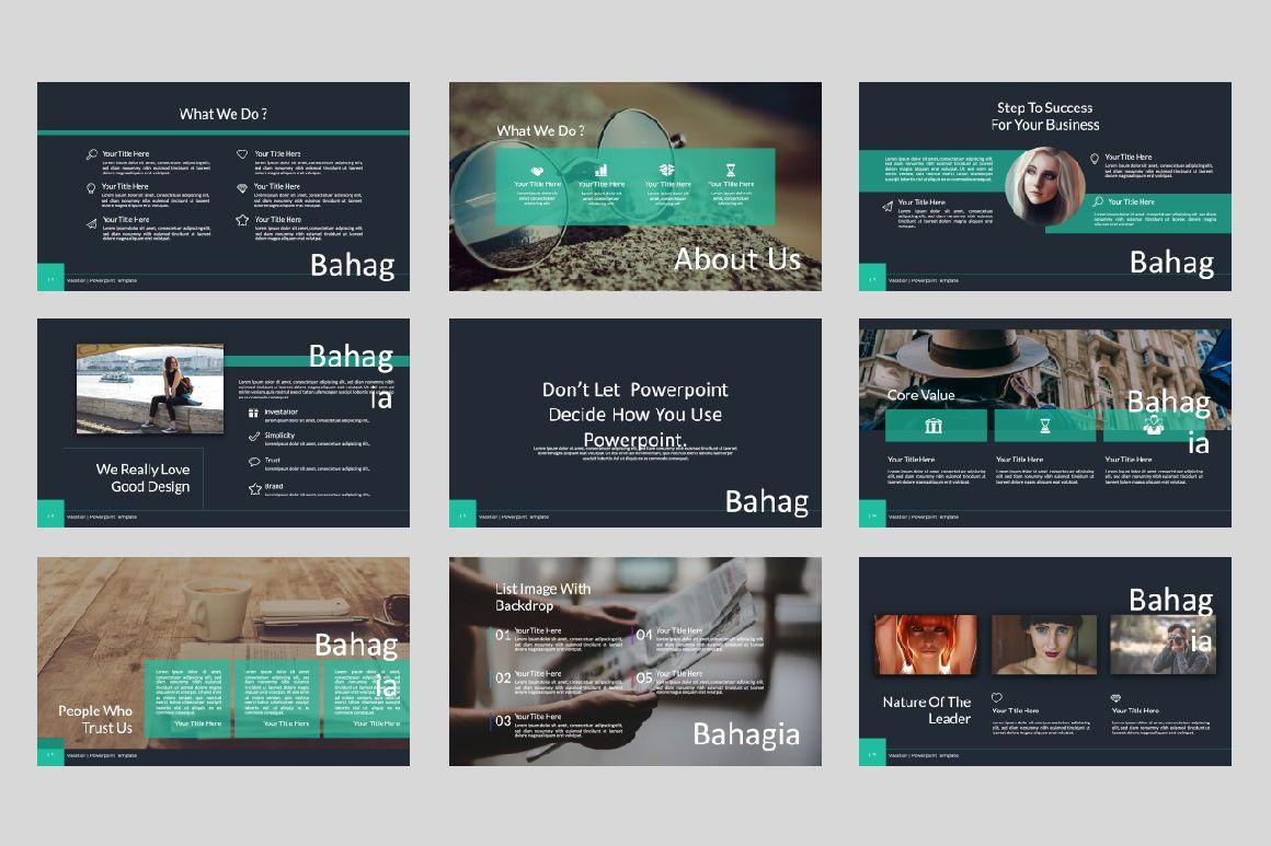 Bahagia Creative Powerpoint, Slide 2, 07286, Presentation Templates — PoweredTemplate.com
