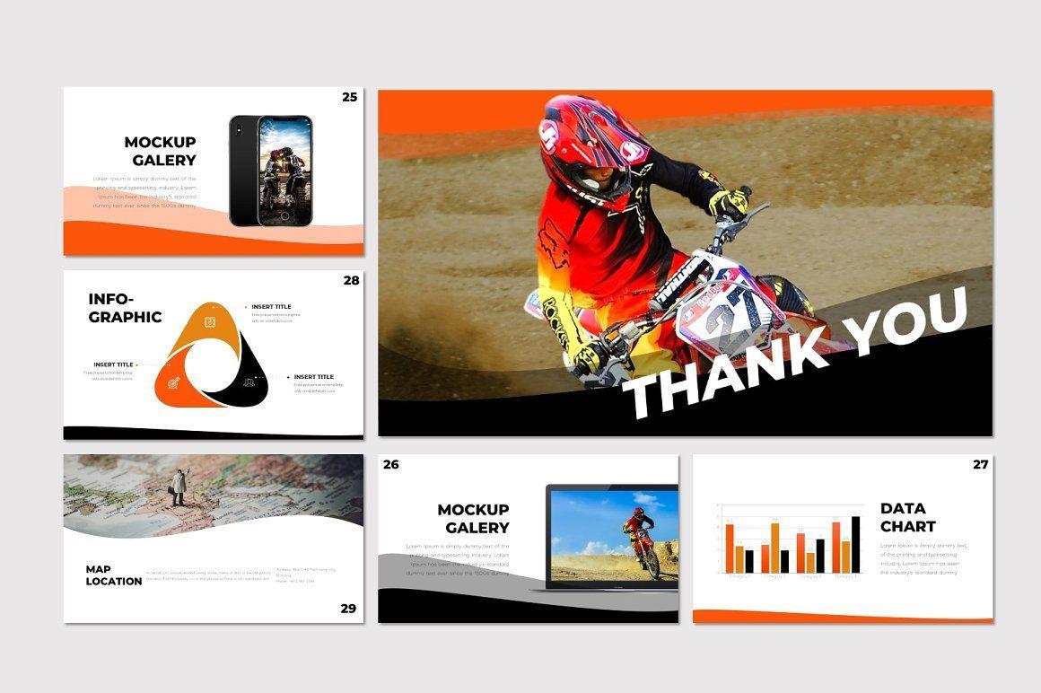 Scramble - PowerPoint Template, Slide 5, 07291, Presentation Templates — PoweredTemplate.com
