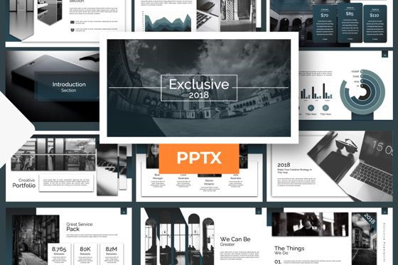 Presentation Templates: Exclusive Business Powerpoint #07293