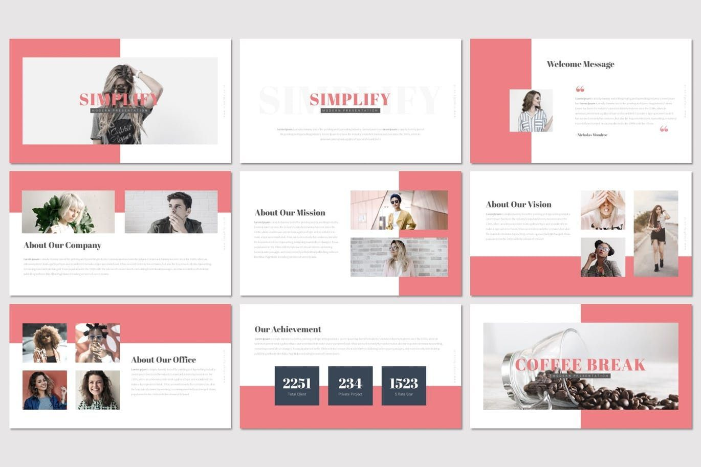 Simplify - Keynote Template, Slide 2, 07294, Presentation Templates — PoweredTemplate.com