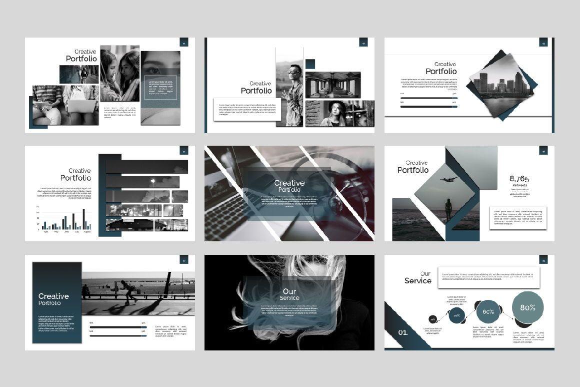 Exclusive Business Keynote, Slide 4, 07299, Presentation Templates — PoweredTemplate.com
