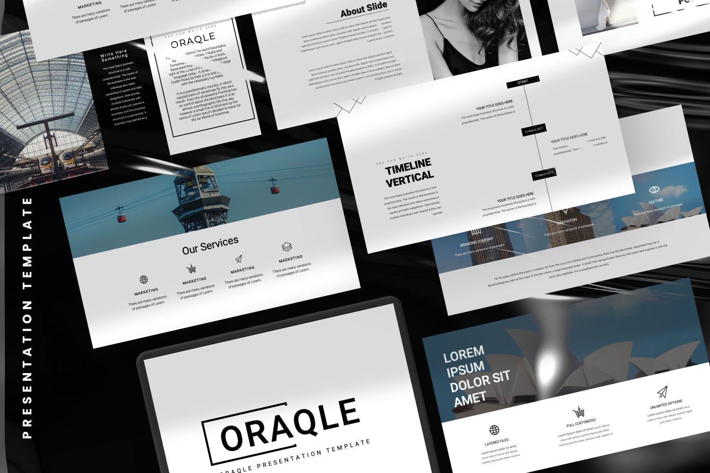Oraqle Creative Powerpoint, Slide 3, 07301, Presentation Templates — PoweredTemplate.com