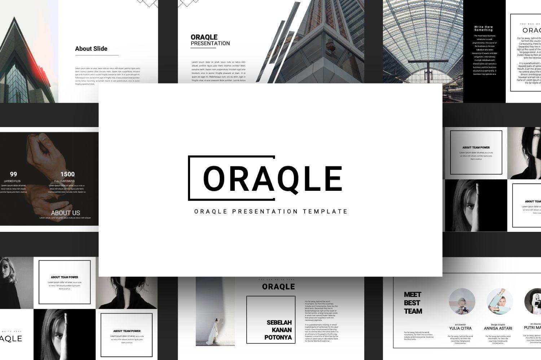 Oraqle Creative Powerpoint, Slide 9, 07301, Presentation Templates — PoweredTemplate.com
