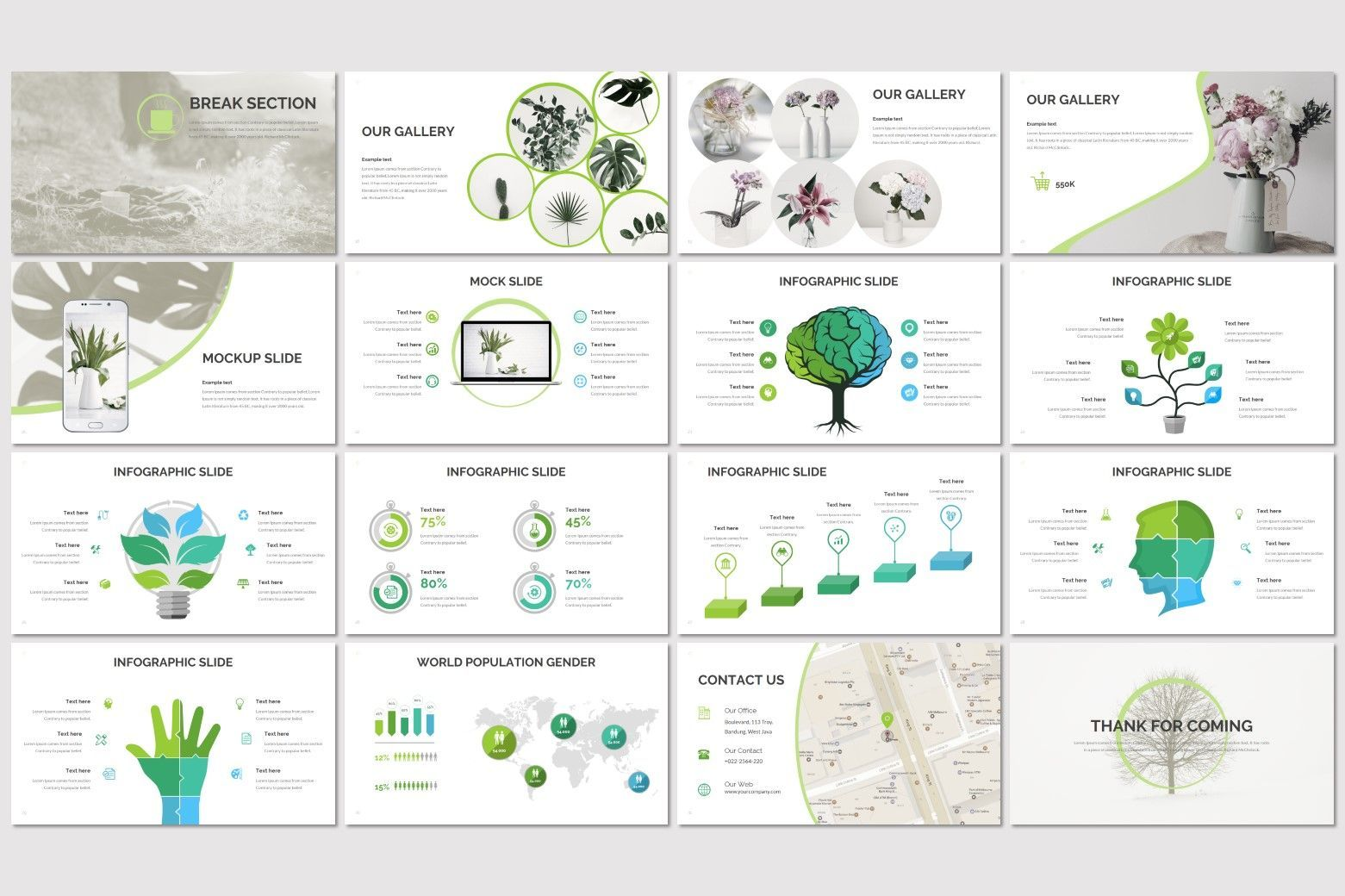 Biots - PowerPoint Template, Slide 3, 07302, Presentation Templates — PoweredTemplate.com