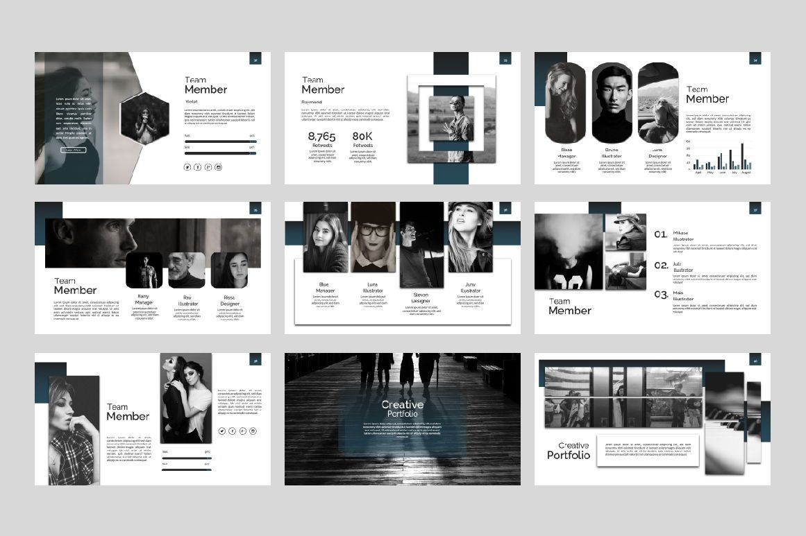 Exclusive Business Google Slide, Slide 5, 07303, Presentation Templates — PoweredTemplate.com