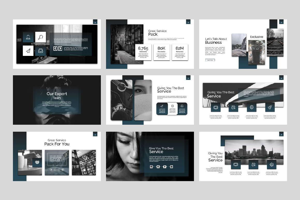 Exclusive Business Google Slide, Slide 6, 07303, Presentation Templates — PoweredTemplate.com