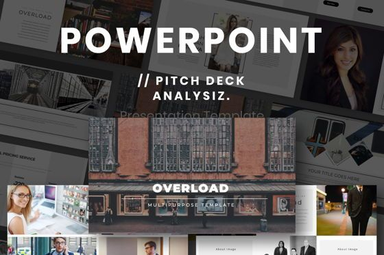Presentation Templates: Overload Business Powerpoint #07309