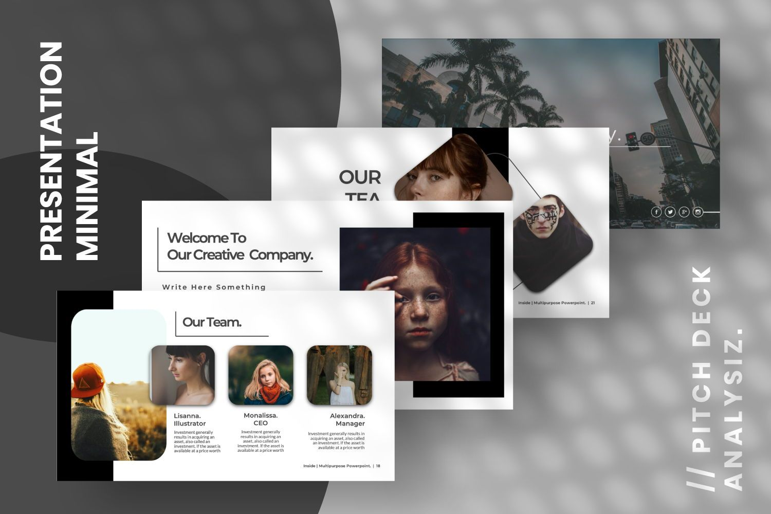 Inside Creative Powerpoint, Slide 5, 07311, Presentation Templates — PoweredTemplate.com