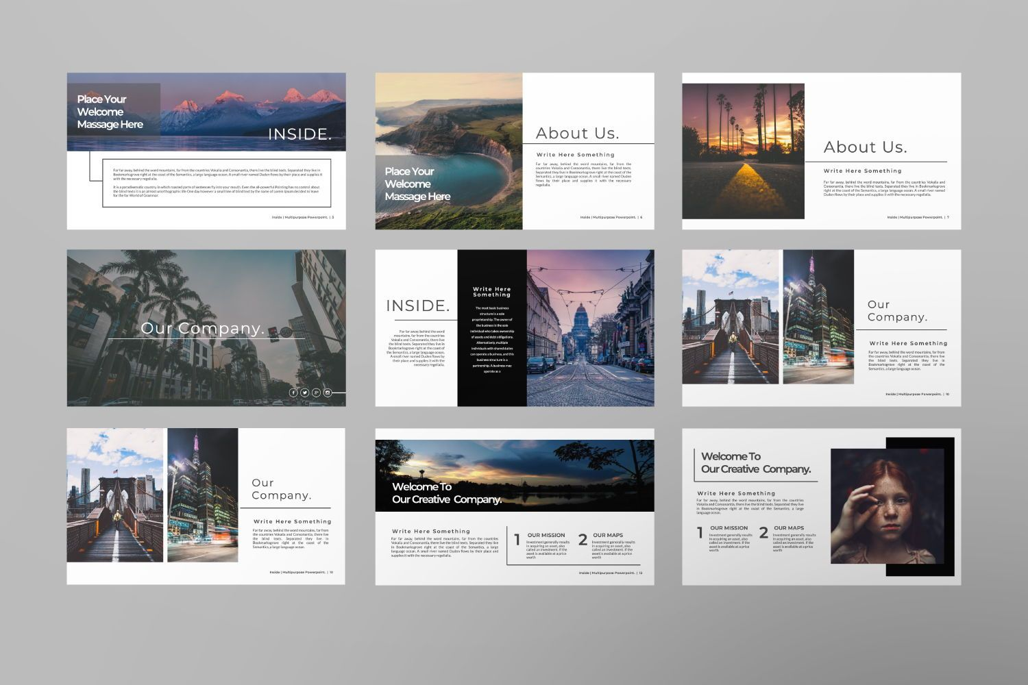 Inside Creative Powerpoint, Slide 7, 07311, Presentation Templates — PoweredTemplate.com