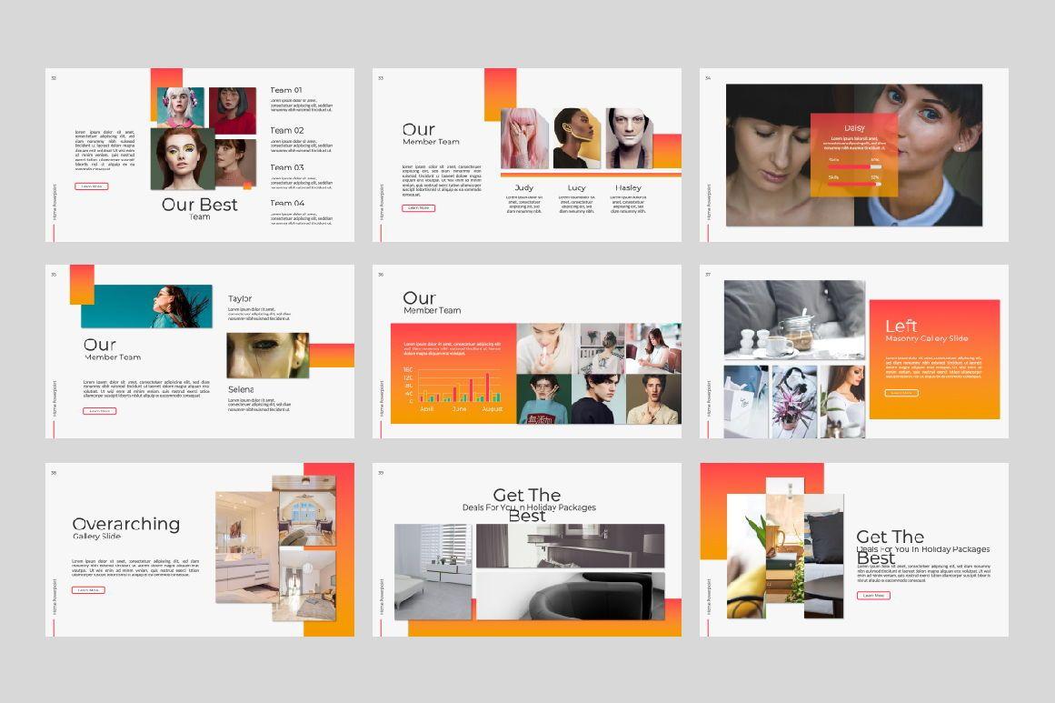Home Business Powerpoint, Slide 5, 07313, Presentation Templates — PoweredTemplate.com