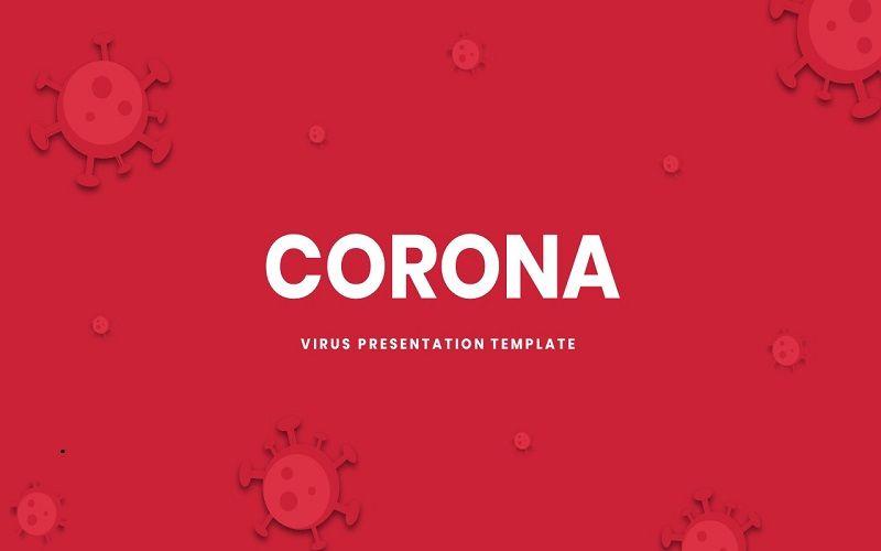 Corona - Google Slide Template, 07314, Presentation Templates — PoweredTemplate.com