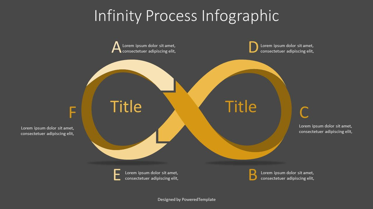 Infinity Process Infographic, Slide 2, 07316, Infographics — PoweredTemplate.com