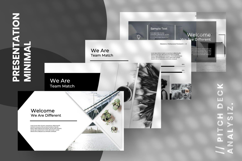 Mezzaluna Business Powerpoint, Slide 3, 07318, Presentation Templates — PoweredTemplate.com