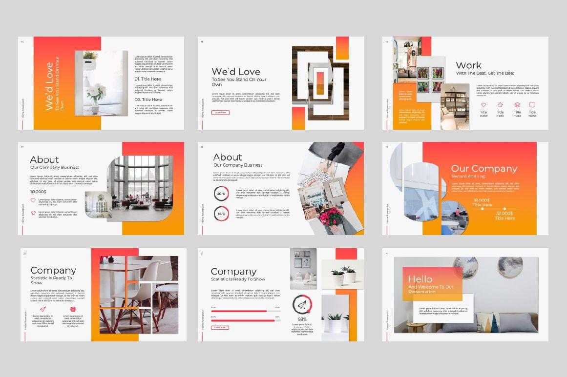 Home Business Google Slide, Slide 2, 07326, Presentation Templates — PoweredTemplate.com