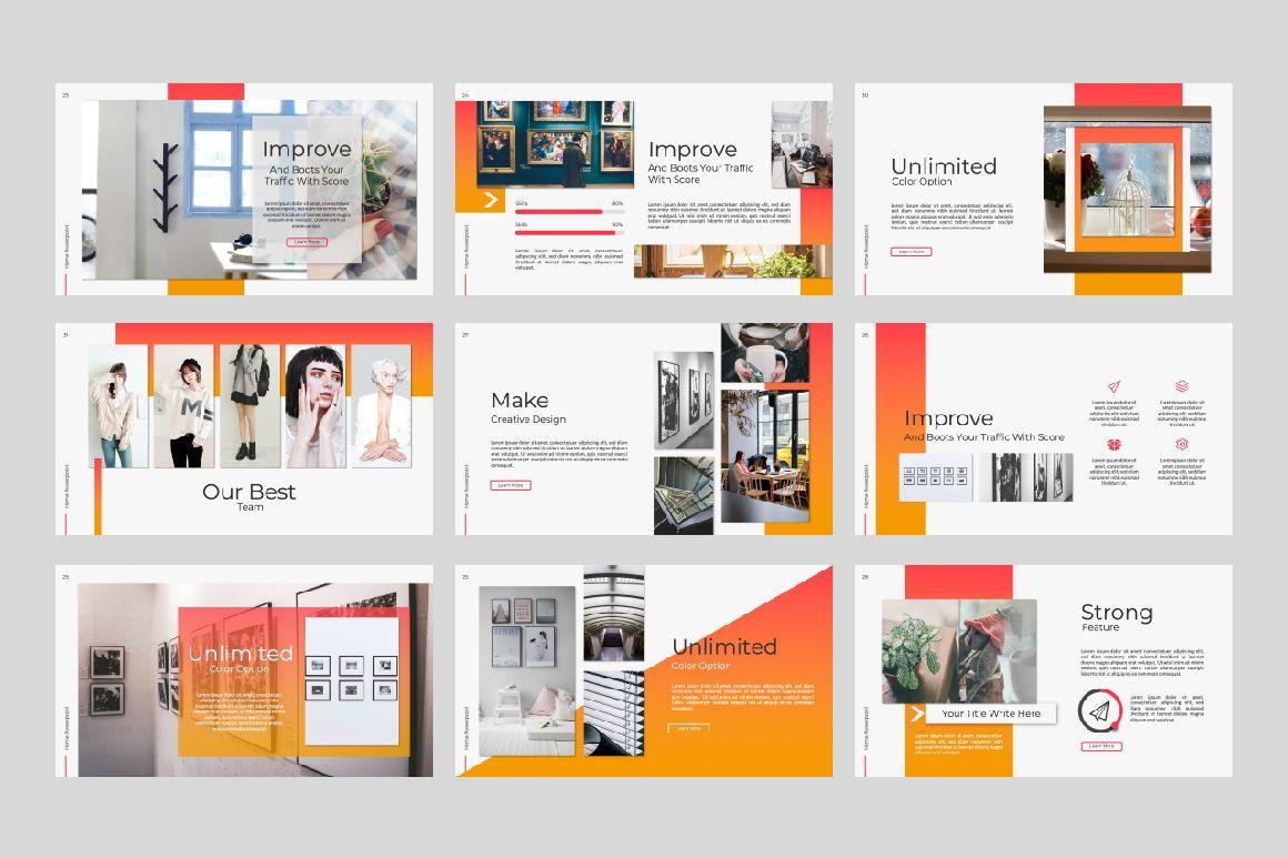 Home Business Google Slide, Slide 6, 07326, Presentation Templates — PoweredTemplate.com