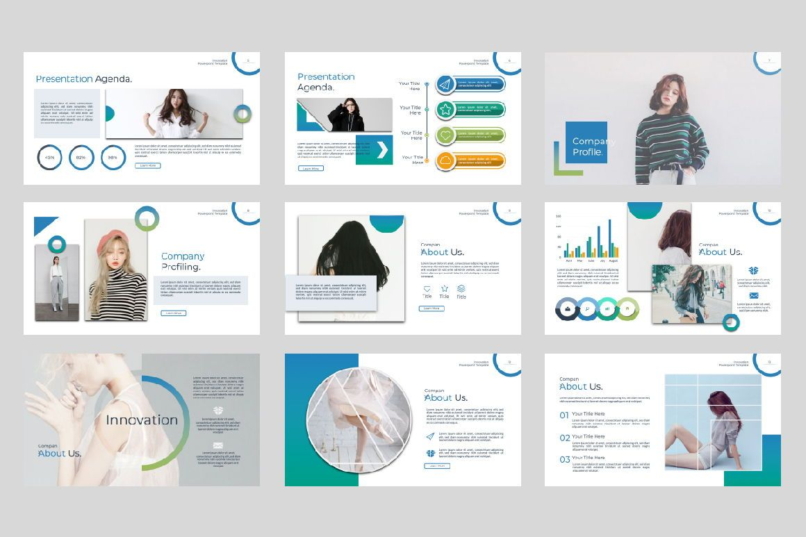 Innovation Business Powerpoint, Slide 3, 07327, Presentation Templates — PoweredTemplate.com