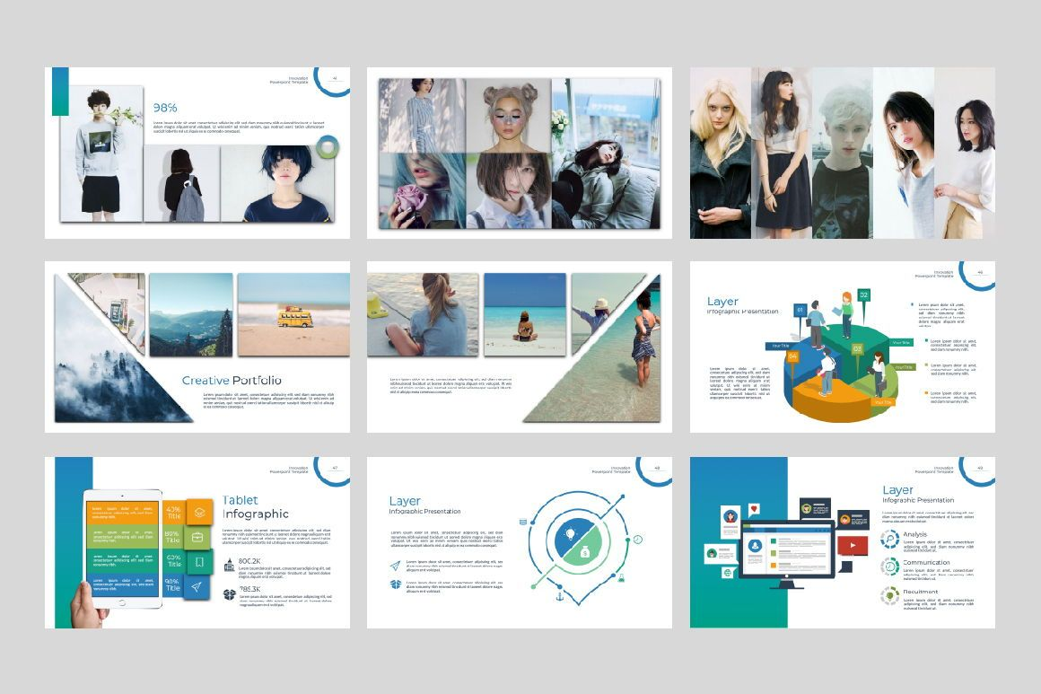 Innovation Business Powerpoint, Slide 6, 07327, Presentation Templates — PoweredTemplate.com