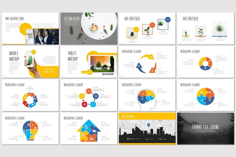 Flicks - Google Slides Template, Slide 3, 07331, Presentation Templates — PoweredTemplate.com