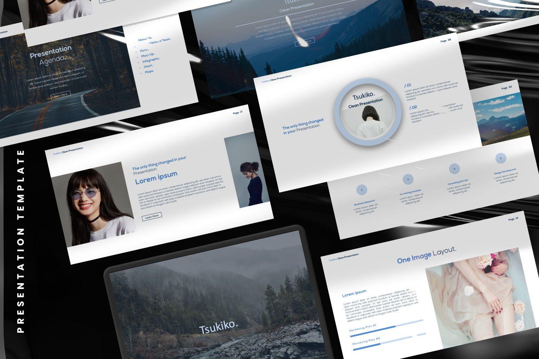 Tsukiko Business Google Slide, Slide 2, 07336, Presentation Templates — PoweredTemplate.com